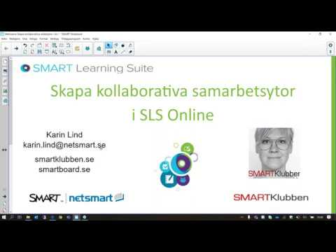 Webinarie Skapa kollaborativa samarbetsytor i SLS Online
