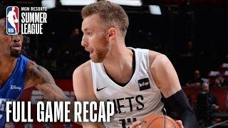 MAGIC vs NETS | Dzanan Musa & Jarrett Allen Propel BKN | MGM Resorts NBA Summer League