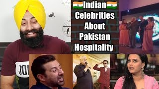 Sikhs Reaction on Indian Celebrities About Pakistani Hospitality , Food & Love