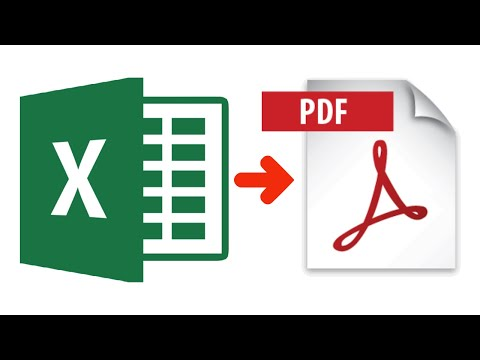 Convert Excel to PDF Online for free | Easiest Way (2021)