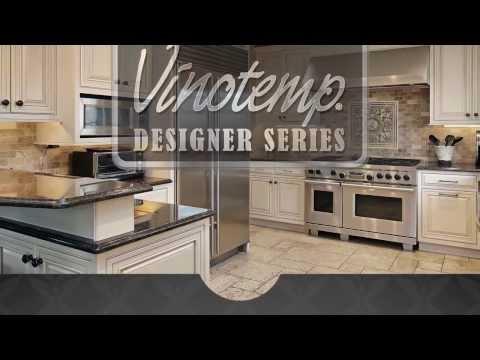 Vinotemp 50 Bottle Seamless Wine Cooler