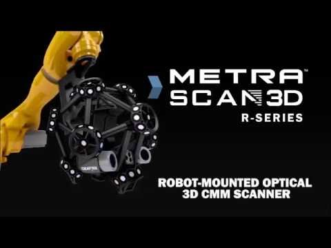 MetraSCAN-R by Creaform for Automated Inspection