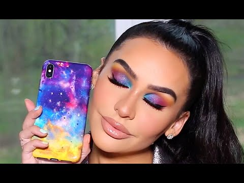 MIDNIGHT GALAXY MAKEUP TUTORIAL