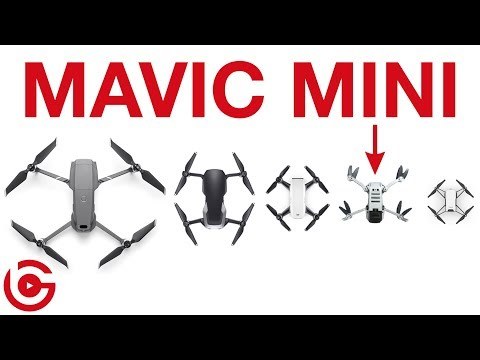 DJI MAVIC MINI - How does it Compare with Other PORTABLE DJI DRONES?
