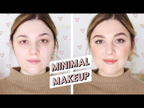 HOW TO LOOK GOOD WITH FIVE PRODUCTS   MINIMAL MAKEUP ROUTINE   I Covet Thee