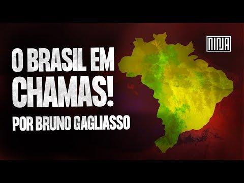 O Brasil em chamas! por Bruno Gagliasso