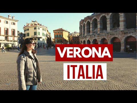 Verona - ITALIA 🇮🇹 La ciudad de Romeo y Julieta (Lugares turísticos)