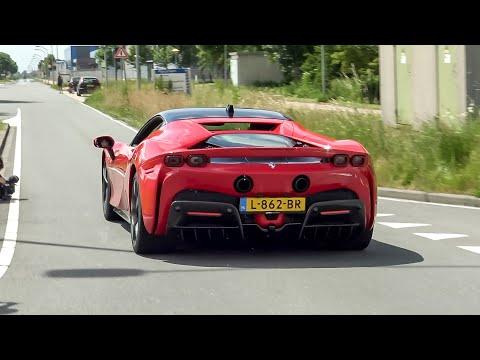 Supercars Accelerating - Capristo Aventador, SF90, iPE GT3 RS, Novitec Urus, 812 GTS, 600LT Spider