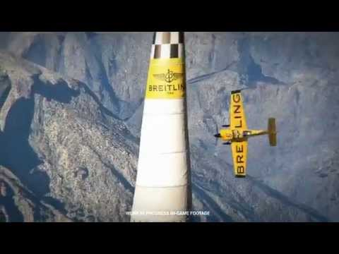 Red Bull Air Race: The Game   Gamescom 2015 Announcement Trailer.  Slightly Mad Studios