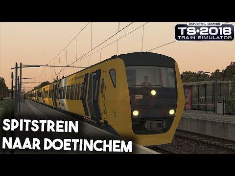 Train Simulator 2018 Spitstrein naar Doetinchem  DM90