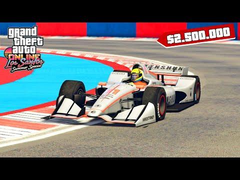 لا تشارك باستعمال هذه السيارة في سباقات قراند أونلاين | GTA Online F1 Races