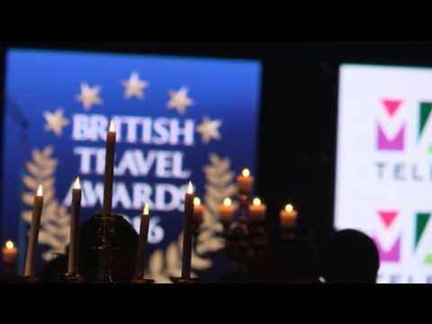 2016 GOLD BRITISH TRAVEL AWARD WINNERS