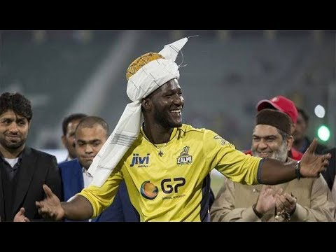 Darren Sammy arrives in Pakistan to attend Zalmi kit launch