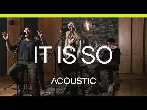 It Is So  Acoustic  At Midnight  Elevation Worship