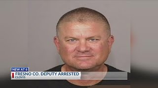 Fresno County Sheriff's deputy arrested again, no longer with department