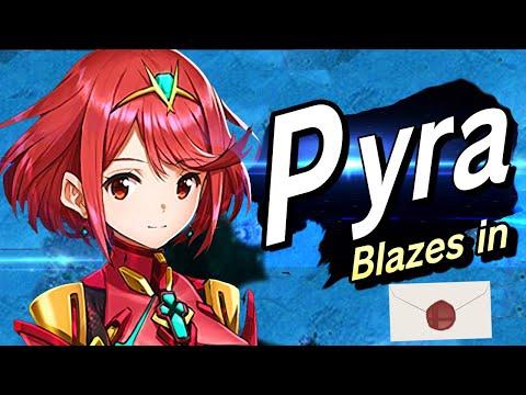 Super Smash Bros Ultimate Pyra + Mythra Reveal Trailer   Nintendo Direct 2021