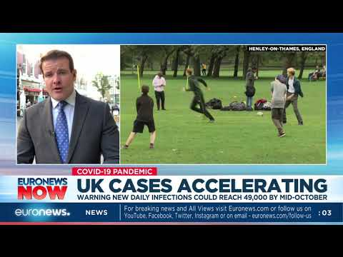 COVID-19: UK cases accelerating