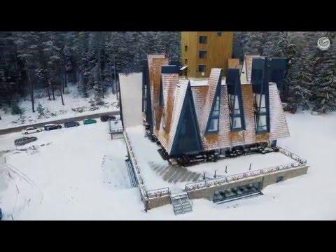 Hotel Pino - Aerial video