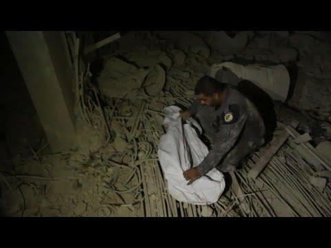 مقتل ستة أشخاص من عائلة واحدة في قصف على الغوطة الشرقية