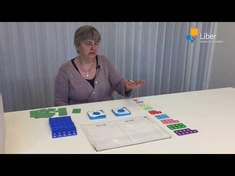 Räkna med Numicon: Subtraktion med subtraktionsöverlägg eller platsvärde