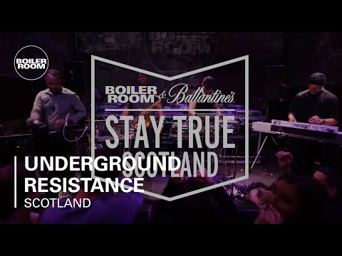 Underground Resistance Presents Timeline   Boiler Room & Ballantine's Stay True Scotland Live Set - UCGBpxWJr9FNOcFYA5GkKrMg