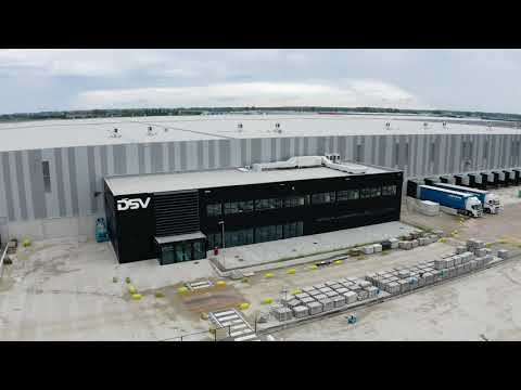 New supply chain warehouse in Tholen, The Netherlands by DSV