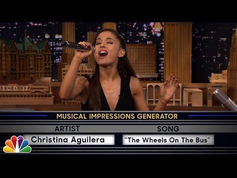 Wheel of Musical Impressions with Ariana Grande - UC8-Th83bH_thdKZDJCrn88g