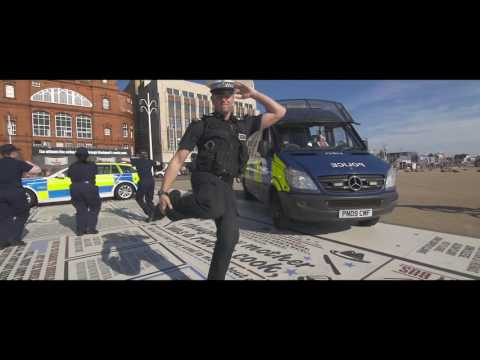 We love a challenge - do you?! Here's our ‪#‎RunningManChallenge featuring our fab cadets, PCSOs, Specials and Police Officers burning up the Comedy Carpet in Blackpool! Want to join us? We're recruting 200 new volunteer cadets right now so if you want to get out there and help us to do some good have a look here http://www.lancashire.police.uk/…/volunteer-police-cadets.a… PS Cheshire Police Greater Manchester Police and Merseyside Police we challenge you