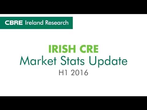 CBRE Ireland Research | CRE Market Stats Update_H1 2016