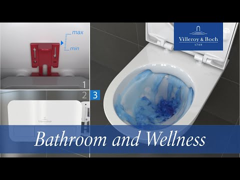ViConnect flushing flow restrictor – toolless, quick adjustable  | Villeroy & Boch