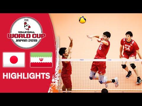 JAPAN vs. IRAN - Highlights   Men's Volleyball World Cup 2019