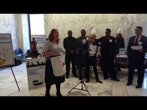 Human Services Bake Sale 3/22/17 - Michelle Jackson, Human Services Council of New York