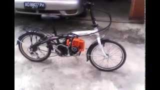 Sepeda Modif Mesin Youtube