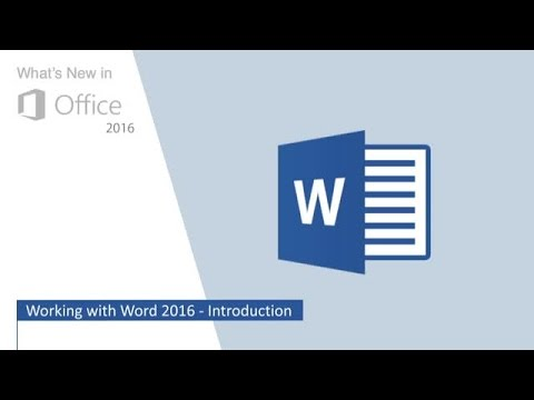 Working With Word 2016: Edit a PDF