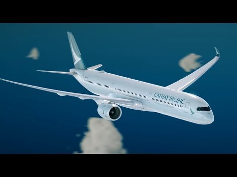 Airbus Delivers First A350-100 to Cathay Pacific Airlines - UCXnIQrzOwgddYqQ3pyf0AnQ