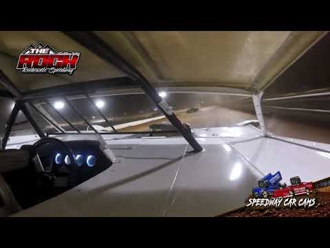 #7 Brad Rickels - Crate Late Model - Rockcastle Speedway - InCar Camera - dirt track racing video image