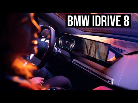 Guide: How to use the BMW iDrive 8 | 4K