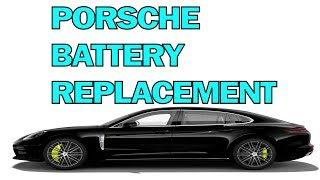 Sostituzione batteria Porsche Panamera da 2009
