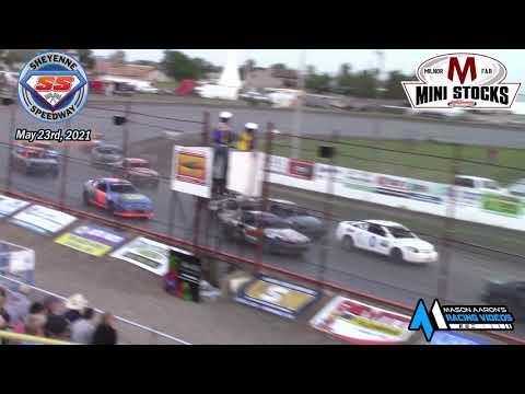 Sheyenne Speedway Mini Stock A-Main (5/23/21) - dirt track racing video image
