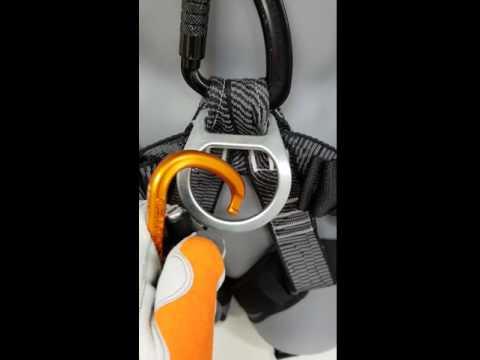 Öppna Karbin Passo TRI med montagehandske Worksafe M40