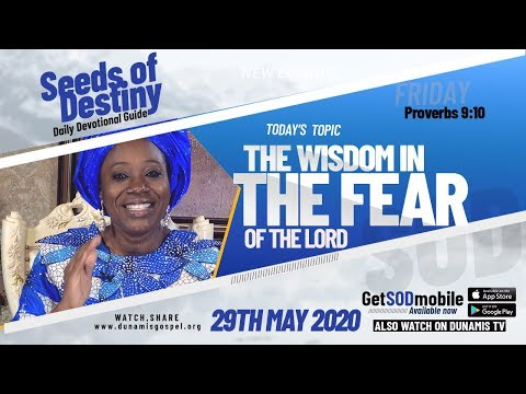 Dr Becky Paul-Enenche - SEEDS OF DESTINY - FRIDAY, 29 MAY, 2020
