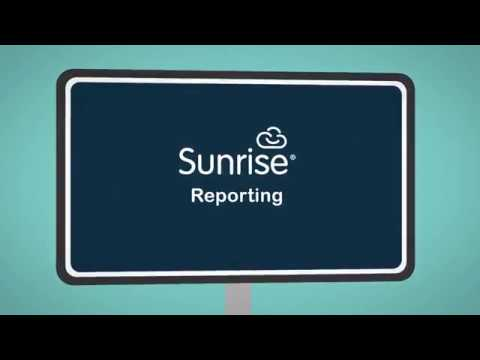 An Introduction to Sunrise Reporting