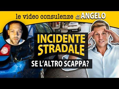 Incidente stradale: SE L'ALTRO SCAPPA   avv. Angelo Greco