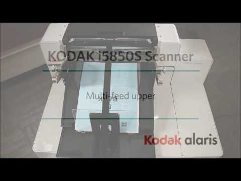 Using the i5850S Scanner from Kodak Alaris (Part 1) Preview