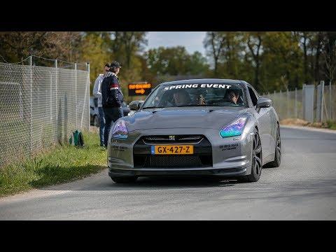 LOUD Nissan GT-R R35 with Titanium Exhaust - Drag Races & Accelerations !