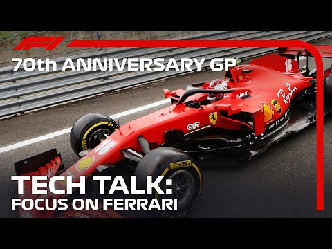 70 Anniversary Grand Prix: Tech Talk - Focus On Ferrari