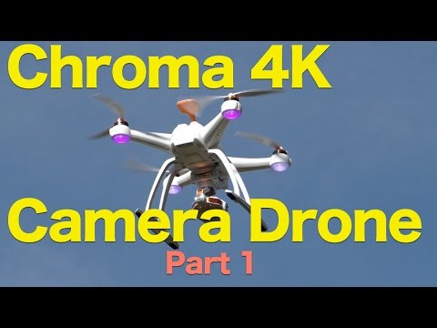 Chroma 4K Camera Drone Review Part 1, 4K Quadcopter With Amazing Video - UCG20rXlEUWfFI1p2B5n3akg