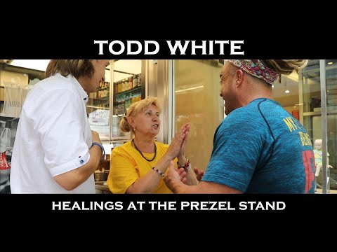 Todd White - God Brings Increase to Supernatural Seed ( Praying for Pretzel Employees )