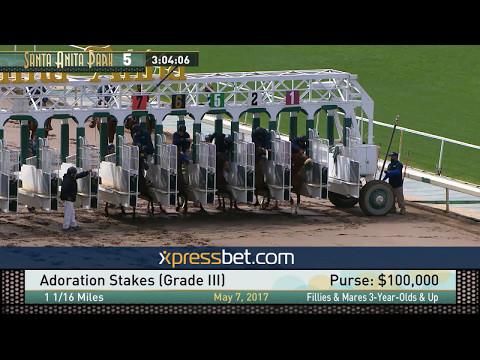 Adoration Stakes (Gr. III) - May 7, 2017