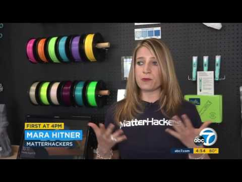 MatterHackers Within Reach on ABC7 News